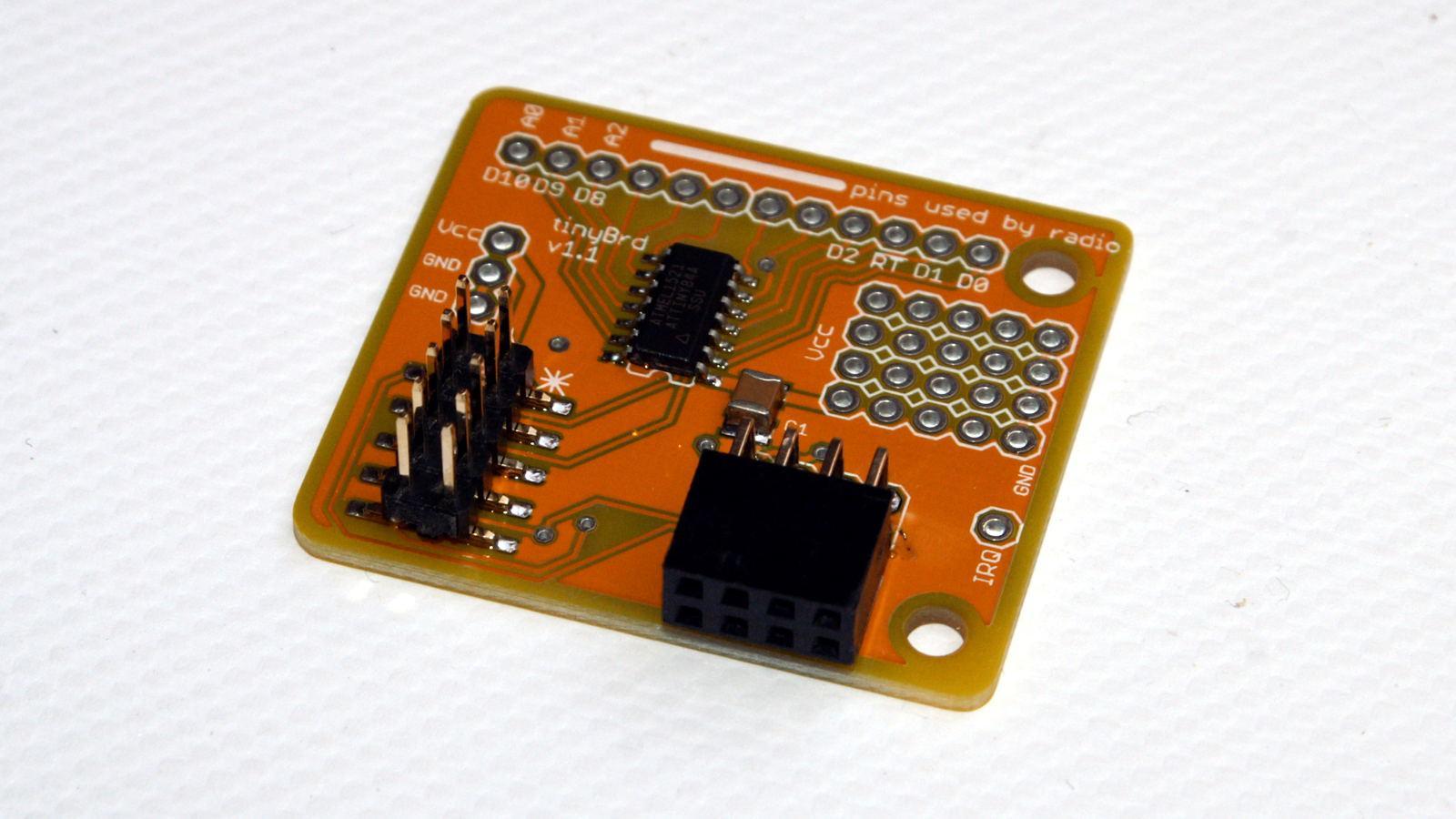 Nettigo: Wireless sensor - tinyBrd Arduino IDE compatible