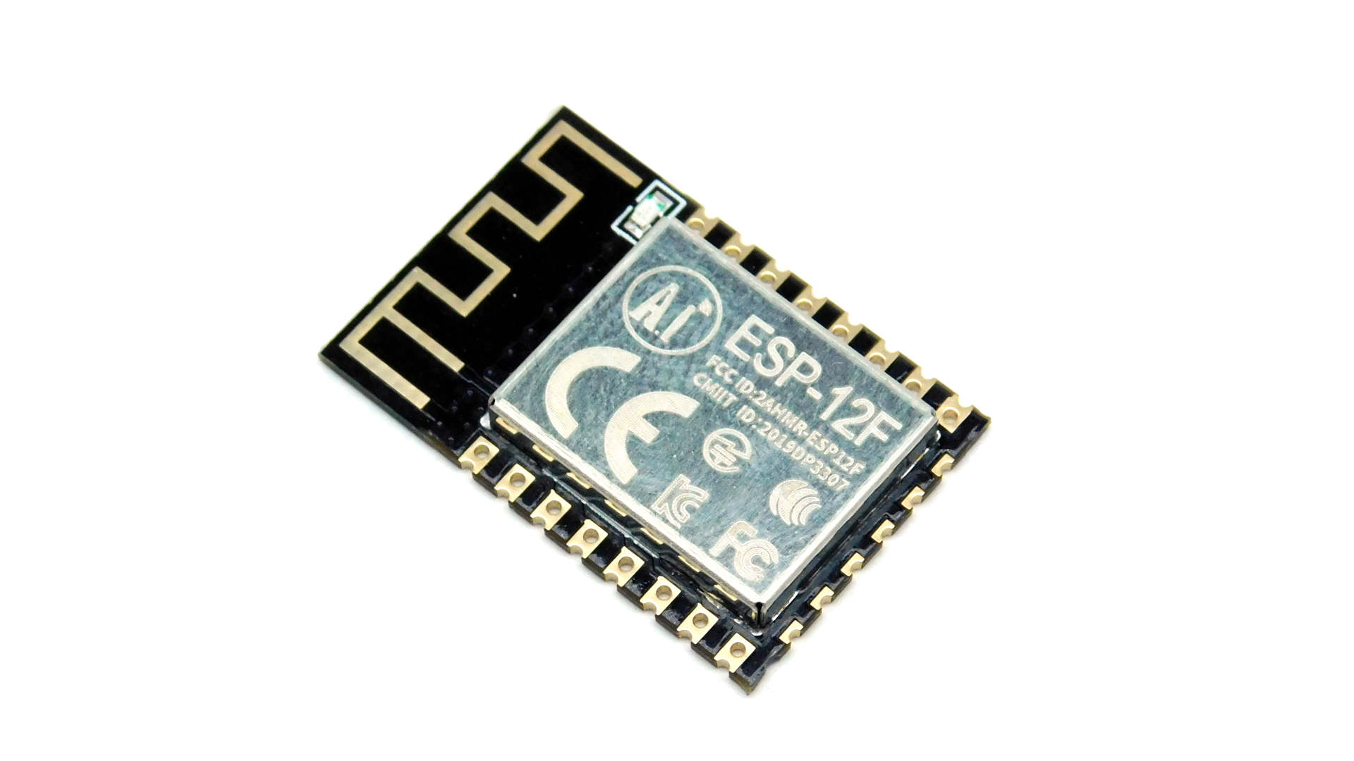 ESP-8266-12 WiFi module with 9 GPIO