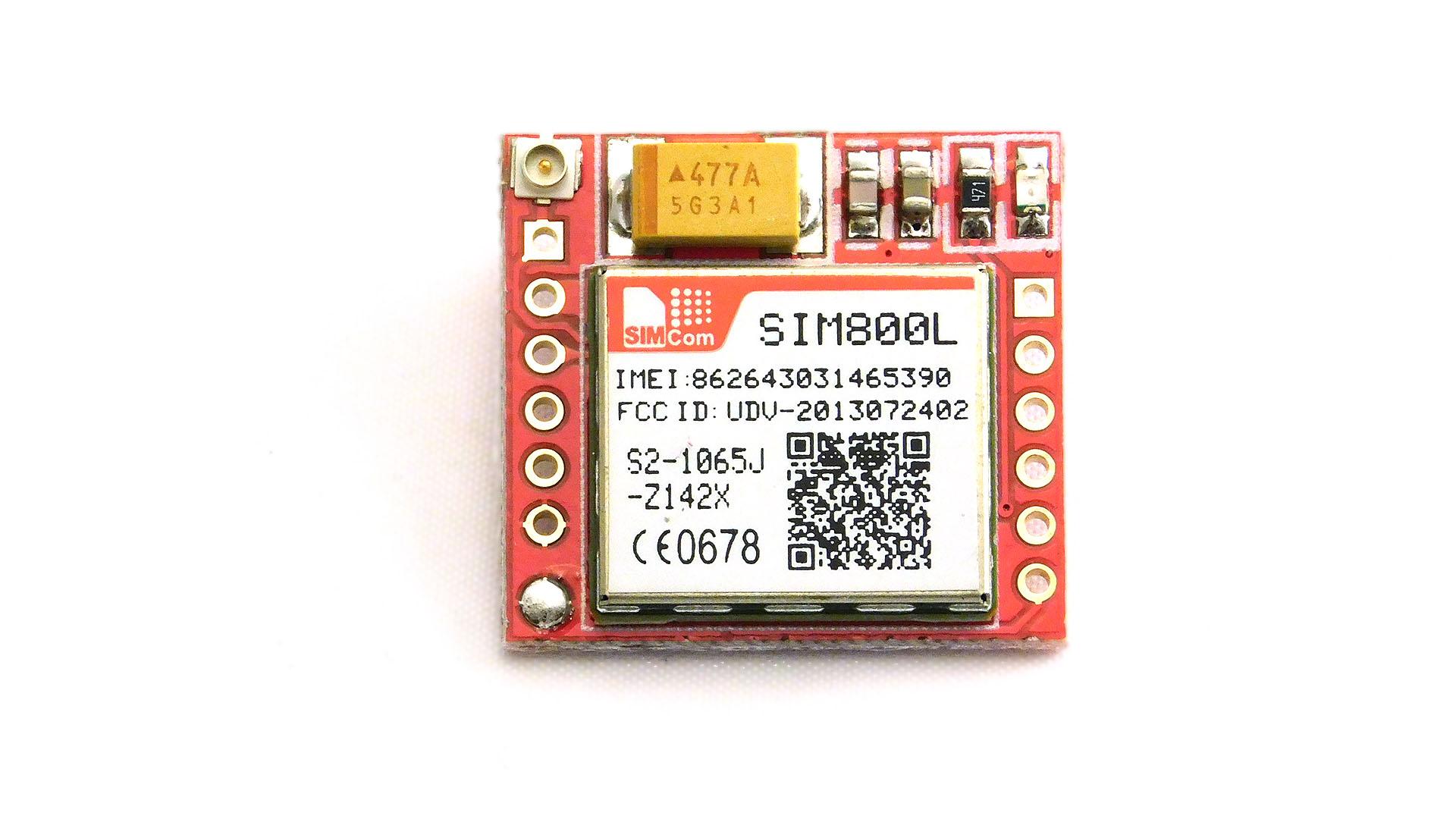 Nettigo: SIM800L GSM / GRPS module
