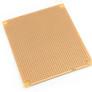 Universal stripboard PCB 93x110 mm