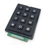 Black numeric keypad