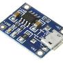 Li-Ion / Li-Po charger TP4056 1S 3,7V microUSB