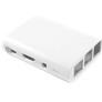 Plastic white enclousure for Raspberry Pi 3, 2, B+