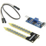 Soil moisture sensor with comparator module