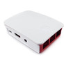Official Raspberry Pi 3 Model B case white-red