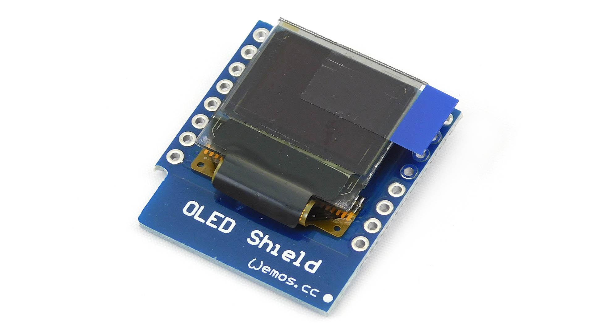 Nettigo: Wemos D1 mini OLED 0 66