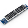 LED 8-digit display module with MAX7219 SPI