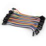 Jumper wires, F-M, 40 pcs, 10 cm