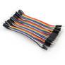 Jumper wires, M-M, 40 pcs, 10 cm