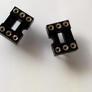 Socket DIP6 pin round