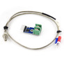 MAX6675 thermocouple converter with K-type thermocouple