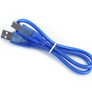 Cable USB A/B, short