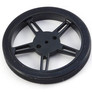 Wheel with rubber tire 60x8 mm for FS90R servo