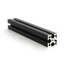 MakerBeam XL 1 piece of 100mm black anodised