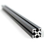 MakerBeam XL 1 piece of 300mm black anodised