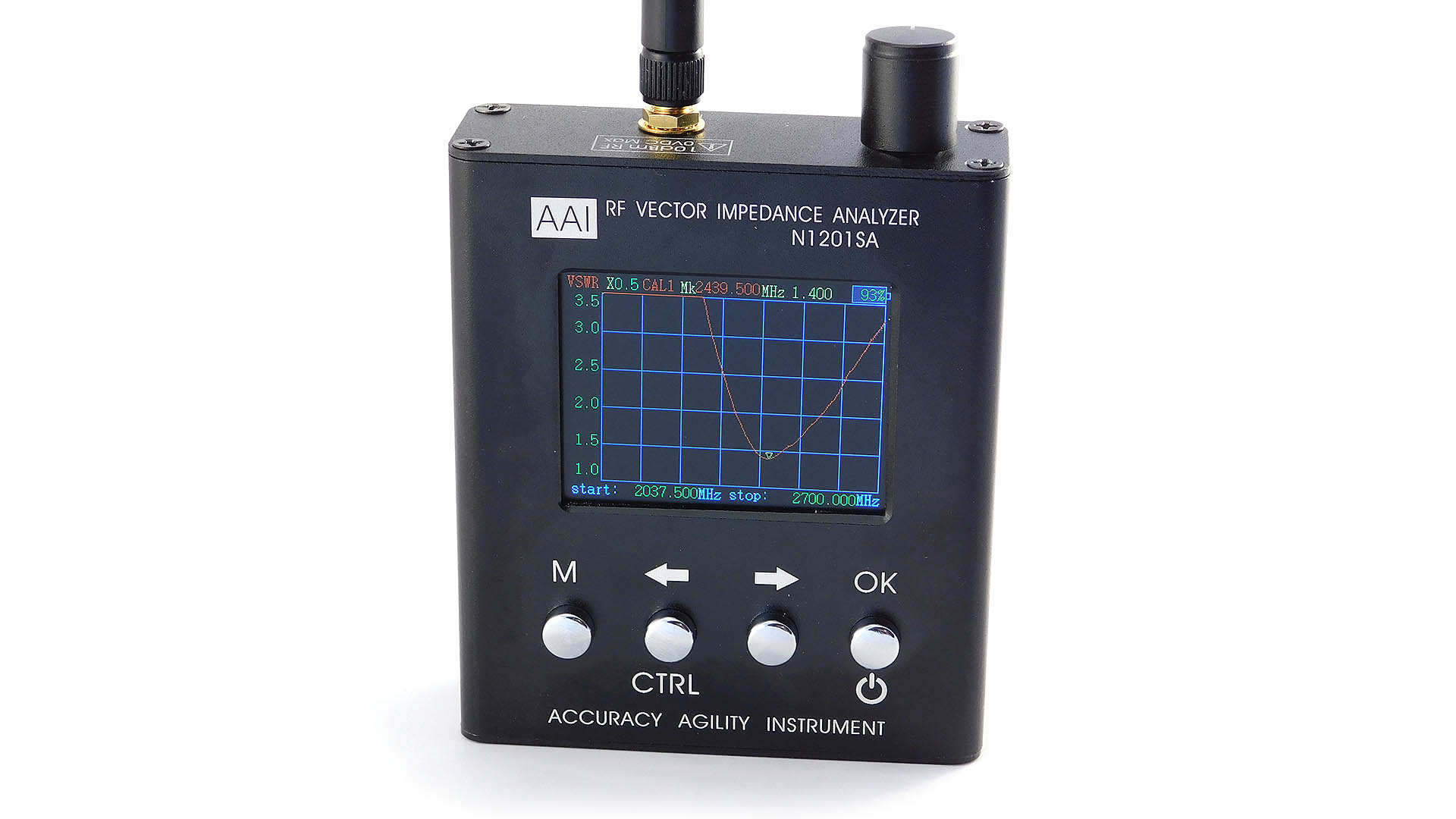 Nettigo: AAI N1201SA RF Vector Impedance Analyzer with calibration kit