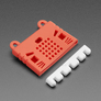 KittenBot Silicone Sleeve for BBC micro:bit Red