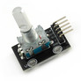 Rotary encoder module with push button