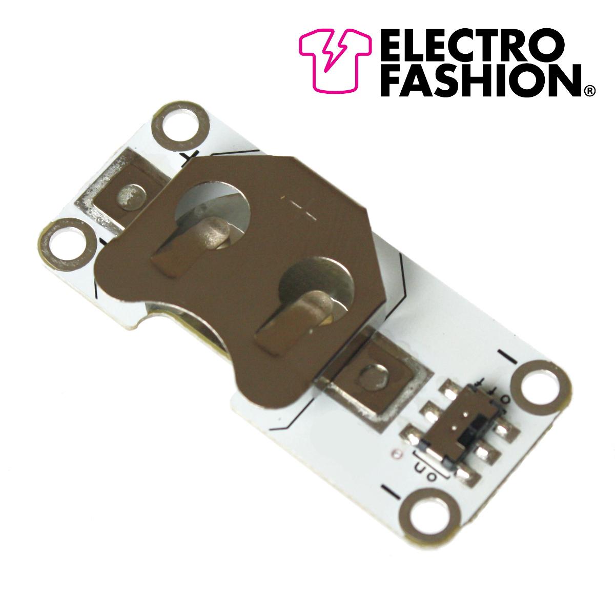 Nettigo Electro Fashion Switched Coin Cell Holder Kitronik 2711