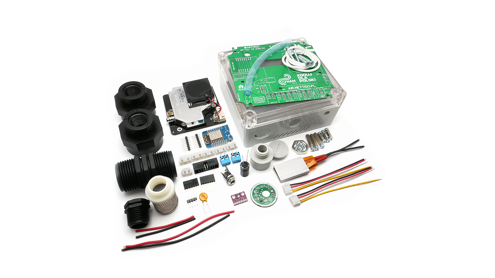 Nettigo Air Monitor (KIT 0 3 1) - Build your own smog sensor!