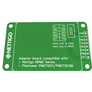 Adapter board for NPMS and Plantower PMS7003 sensors