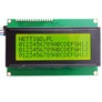 LCD display, 4x20, green/black with I2C converter 2004A