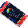 """LCD 2.4"""" with touch for Wemos D1 Mini - soldering kit"""