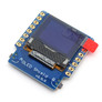 """Wemos D1 mini OLED 0.66"""" I2C shield with two buttons"""