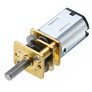 N20 DC motor with metal gearbox (6V/200RPM/1:50)