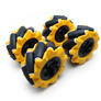 Mecanum Wheel 80mm (2L+2R) - set of 4 wheels
