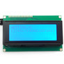 Character LCD display 4x20 blue/white