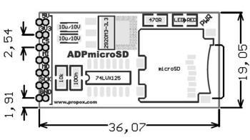 Nettigo: MicroSD module
